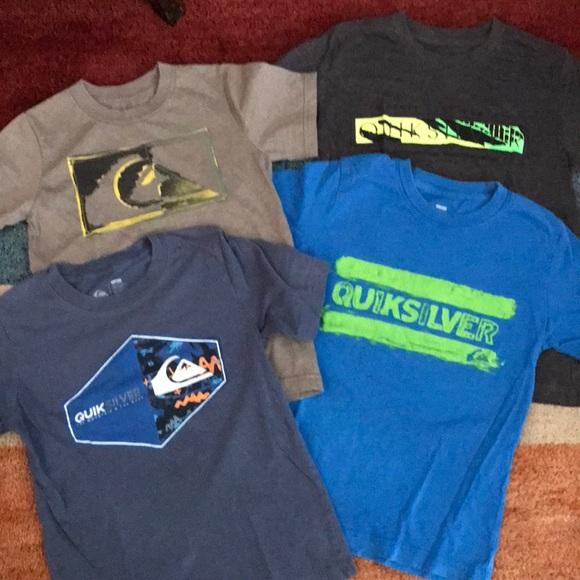 1e8dc7df4d Quicksilver boys t shirt lot size 7